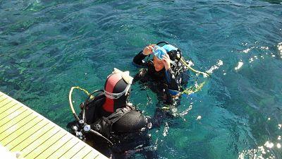 Baptême de plongée enfant avec bellevue plongée